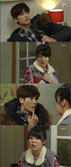 'What's WIth this Family' Park Hyung Shik Kisses Nam Ji Hyun - http://asianpin.com/whats-with-this-family-park-hyung-shik-kisses-nam-ji-hyun/