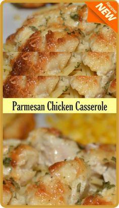 Parmesan Chicken Casserole | Amzing Food
