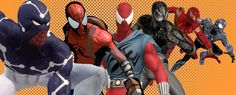 all spiderman suits | All The Spiderman Costumes - Costume For Man