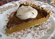 Delicious Guilt-Free Pumpkin Pie w/ Oat Pie Crust | Recipe Guide | Dr Fuhrman.com
