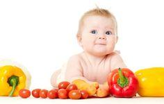 dziecko, niemowlę, warzywa