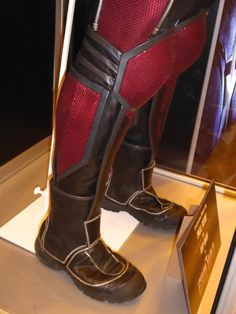 Ant-Man costume boots Captain America: Civil War