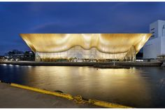 Kilden Performing Arts Centre by ALA Architects
