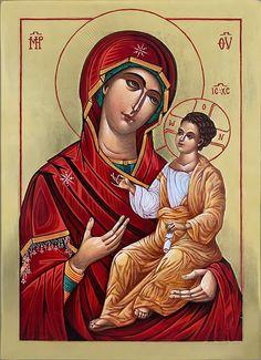 Blessed Virgin — The Studio of John the Baptist John The Baptist, Orthodox Icons, All Icon, Sacred Art, Original Artwork, Mystery, Blessed, Studio, Image