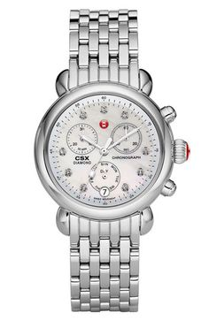 MICHELE 'CSX-36' Diamond Dial Customizable Watch  available at #Nordstrom #AnniversarySale