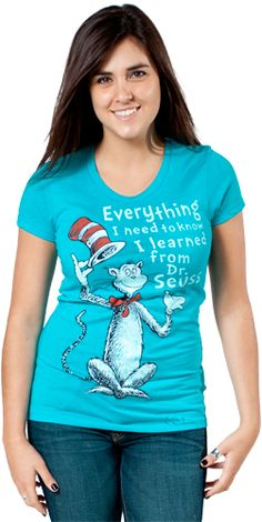 Learned From Dr Seuss T-Shirt