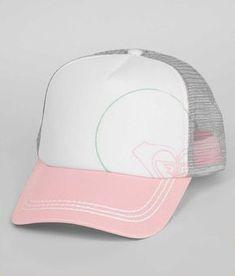 b80c0904 Roxy Truckin Trucker Hat Roxy Clothing, Custom Caps, Cute Fashion, Fashion  Hats,