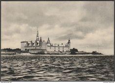 Kronborg Slot, Helsingør, Danmark, c.1930s - Brammers RP Postcard