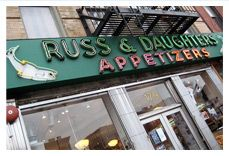 Russ & Daughters is one of the  last remaining appetizing shops  left in New York City, or anywhere  in the country, for that matter.  When he opened it in 1914, Joel Russ called his store ''Russ's Cut Rate Appetizers.'' What's behind  the name?