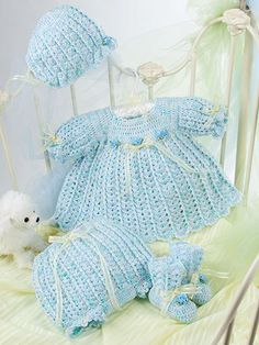 Beautiful Baby Boutique II - Crochet Pattern