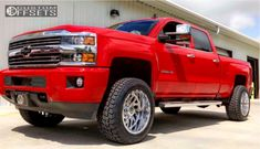 Largest Online Truck Fitment Gallery Browse the largest online truck fitment gallery, curated by enthusiasts, for enthusiasts. Lifted Trucks, Chevy Trucks, Chevrolet Silverado 2500, Custom Wheels, Jeep, Ford, Gallery, Vehicles, Model