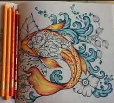 1142 Best Coloring with Pencils images in 2019 | Adult colouring in ...