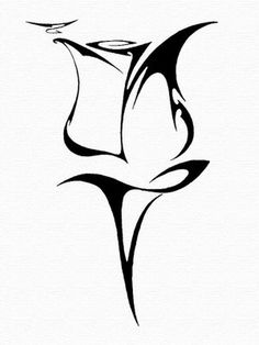 Tribal Rose. Tat idea. <3