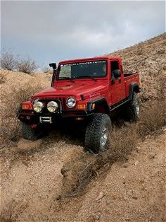 American Expedition Vehicles' Jeep Brute - TJ + Ute = Brute