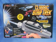 You want one, we got one! Check out the description of this awesome 1994 Phaser replica from Playmates. Hang out at the Batcave Toy Room while you're at it- fantastic site dedicated to classic toys.