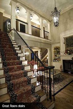 love the 2 staircases