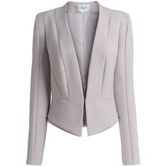 Amanda Wakeley Maki Fitted Peplum Blazer and other apparel, accessories and trends. Browse and shop related looks. Look Blazer, Peplum Blazer, Blazer Outfits, Blazer Jacket, Peplum Jacket, Blazers For Women, Suits For Women, Elegant Style Women, Look Office