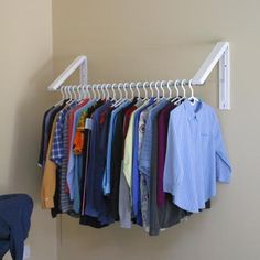 QuikCLOSET - Clothes Storage Solution and Laundry Room Organizer