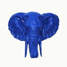 The Brighton | Blue Elephant Head