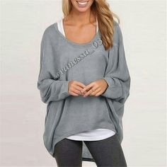 COMING SOON  Baggy Hi-Lo Top Grey Polyester. This is a semi sheer (you'll probably want to wear tank top under it) lightweight thin textured sweater. Baggy Hi-Lo top S PRICE FIRM unless Bundled Sweaters