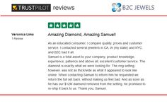 B2C Jewels Review on Trust Pilot by Veronica Lima