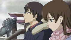 Isurugi Jun e Yuasa Hiromi