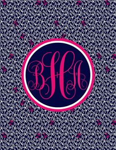 Printable Lilly Pulitzer Inspired Personalized Or by nreese47, $4.00