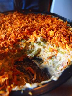 Vegan Green Bean Casserole #vegan #side #recipe