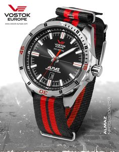 Coming soon...  Vostok Europe Almaz Automatic NH35A-320A258
