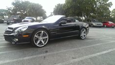 2009 Mercedes SL550 by Boulevard Customs in St. Petersburg FL . Click to view more photos and mod info.