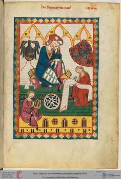 Reinmars von Zweter wurde vermutlich um 1200 geboren. Man weiß von ihm, daß er sich um 1234 bis 1236 kurz an den Höfen Herzog Leopolds VI. von Österreich in Wien und König Wenzels I. in Prag aufhielt. Über seine Herkunft und sein Familie geben die Urkunden keine Auskunft.
