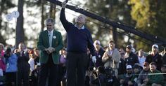 Masters honors Arnold Palmer before Nicklaus, Player tee off https://www.usatoday.com/story/sports/golf/masters/2017/04/06/masters-honors-arnold-palmer-nicklaus-player-ceremonial-start/100112734/