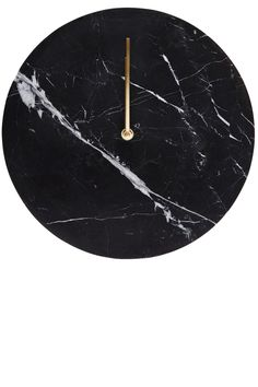 Menu — Black Marble Wall Clock With Brass Hands Black And Gold Aesthetic, Traditional Clocks, Marble Watch, Luxury Gifts For Women, Best Graduation Gifts, Hamptons House, Rooms Home Decor, Black Marble, Beautiful Wall