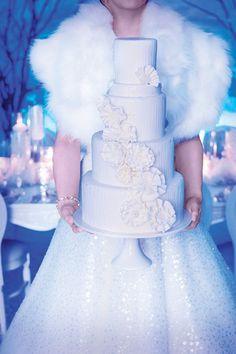 Disney Princess Weddings IRL: 15 Ideas Inspired by Frozen + Queen Elsa via Brit + Co.