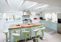 Pastel Kitchen: retro pastel kitchen