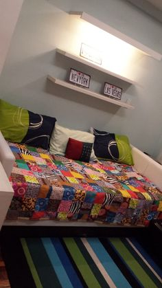 Our Travel-inspired Condo: The Sleeping Area Philippines Travel, Us Travel, Jet Set, Condo, This Is Us, Blanket, Inspired, Bed, Inspiration