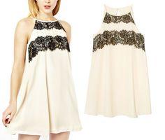 Lace sleeveless vest dress WE51307PO