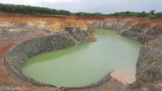 Goudmijnen in Thailand. Zouden gesloten worden?