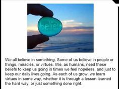 blog post on teaching 'this i believe' in an 8th grade classroom
