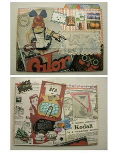 C+P File Folder Mail Art by lorepuckett, via Flickr