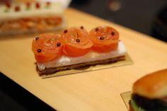 Norwegian smoked salmon and caviar tea sandwich {Drool}