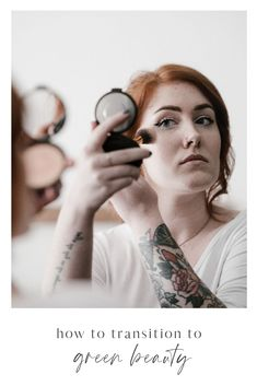 Ready to make the jump to green beauty products? Have the time? Here's how to do it in under an hour (seriously). Organic Skin Care, Natural Skin Care, Organic Makeup, Animal Testing Cruelty, Mascara Wands, Shades Of Beige, Best Makeup Products, Beauty Products, Green Life