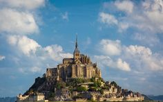 Mont Saint-Michel in Normandy, France, was the very first place Disney animators studied before conceptualizing the island kingdom of Corona in Tangled. The tallest spires of Corona Castle take after that of Mont Saint Michel Abbey, while Disney's art director Laurent Den-Mimoun borrowed from the designs of other French renaissance castles and fortresses to fill in the rest.