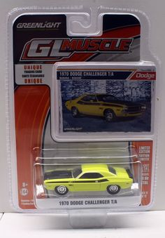 Greenlight MUSCLE Series 12 * 1970 Dodge Challenger T/A * Latest Release #GreenLight #Dodge