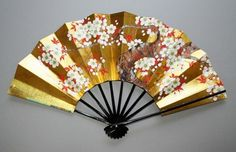 cherry blossom fan