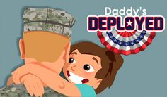 Enter for a chance to win a Daddy's Deployed book from Daddy's Deployed LLC. Perfect for military families with an upcoming PCS or deployed family member! Military Deployment, Military Spouse, Military Families, Military Love, Army Life, Personalized Books, Family Kids, Book Review, Daddy