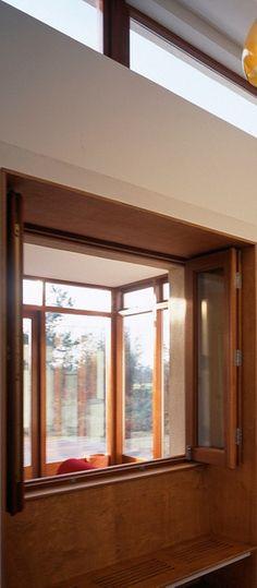 Kitchen window seat and sun room behind www. Window Seat Kitchen, Sun Room, Zig Zag, Architects, Houses, Windows, Homes, Winter Garden, Building Homes