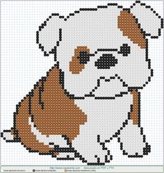 Explore our web site for additional information on Bulldogs. It is a great spot to learn more. Cross Stitch Pattern Maker, Funny Cross Stitch Patterns, Cross Stitch Charts, Melty Bead Patterns, Perler Patterns, Beading Patterns, Beaded Cross Stitch, Cross Stitch Embroidery, Minecraft Pixel Art
