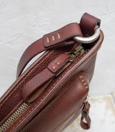 Tom Bag de Luxe vegetable tanning leather от HuckleberryArtisans