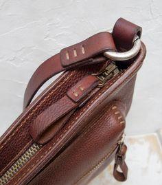Tom Bag de Luxe vegetable tanning leather от HuckleberryArtisans
